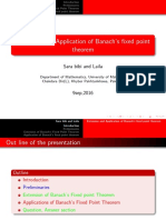 Banach fixed point theorem