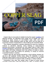 Copper Slag Short Presentation Ppt