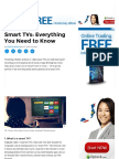Smart TV FAQ - The Pros and Cons of Smart Televisions