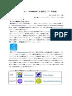 ハイビーコン(Hibeacon)の捜索アプリの説明