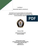 SINTESIS Acrylate-Acrylamide Copolymer