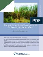 Application Continuous Vacuum Pans