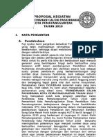 Proposal Perkemahan Calon Paskibraka 2010
