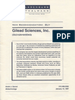 Gilead Sciences Antiviral Medicine