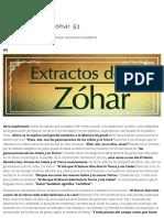 Extractos Del Zóhar 51 _ Proyecto Jai