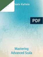Mastering Advanced Scala Sample