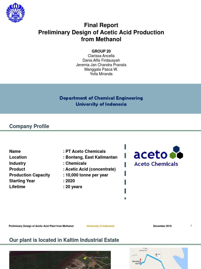 TK20_PPT_FINAL _v2 | Acetic Acid | Distillation