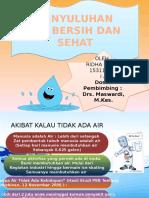 Ppt Penyuluhan Air Bersih Dan Sehat