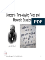 Maxwell Equations in D and I Form