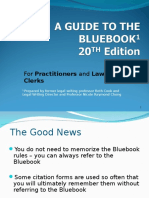 Bluebook Guide Practitioners20th Ed