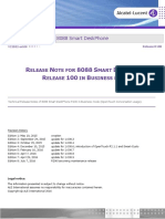 Tc2052en-Ed08 Release Note for 8088 Smart Deskphone Release 100 in Business Mode
