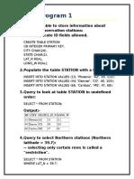 SQL Programs for elementary practice