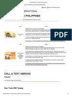Sun International - Call and Text International