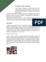 Fenómenos Sociales en Guatemala
