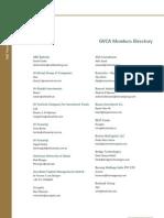 Gvca Members Directory 1484