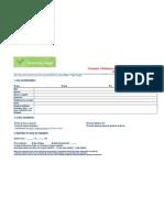 Formula Ire d'Inscription DEC