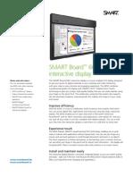 Factsheet SMART Interactive Display 6052 i ENG