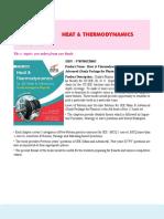 6. Heat & Thermodynamics