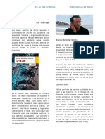 Ricardo Menéndez Salmón- La Vida en Llamas Gritar - Escuela de ...