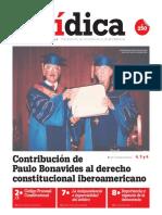 CONTRIBUCIÓN DE PAULO BONAVIDES AL DERECHO CONSTITUCIONAL IBEROAMERICANO