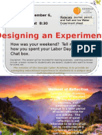 9-6 designing an experiment  1