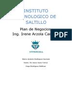Plan de Negocio Hyper Cell
