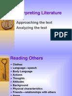 Analyizing Fiction LAMC