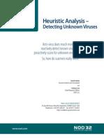 Heuristic Analysis - Detecting Unknown Viruses - Feb2007