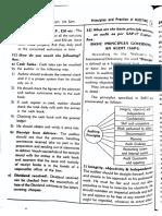 basic principles of governing & audit
