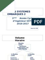 Systèmes Embarqués 2 GSTR3