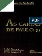As Cartas de Paulo I