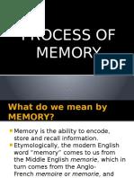 Process of Memory