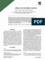 Restrictive Strabismus After Retrobulbar Anesthesia