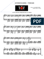 Vingadores - Piano