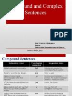 Compound and Complex Sentences 2