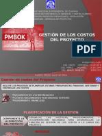 PMBOOK - Gestion de costos
