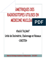 Dosimetrie TNRP 20013 Venderdi