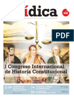 I CONGRESO INTERNACIONAL DE HISTORIA CONSTITUCIONAL