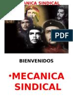 Mecanica Sindical