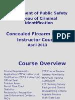 CFP Inst Course Revised April 2013
