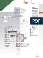Inductive Sensors Standard 3, 4 Wire2