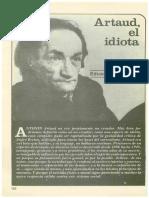 Haro Ibars, Eduardo - Artaud, El Idiota