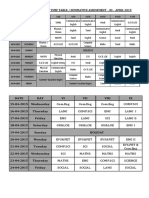 Sep Timetable_uned
