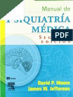 Manual Psiquiatria Medica 2 Ed Moore