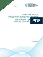 Promocion y Fortalecimiento de La Actividad de Transferencia Tecnologica