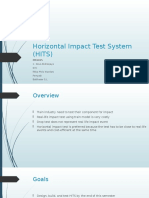 Horizontal Impact Test System (HITS) Rev
