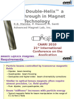DDH a Breakthrough in Magnet Technology 1-28-10