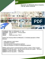 Bucuresti Ion Mihalache Banca Carpatica 248 Mp