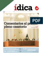 COMENTARIOS AL PRIMER PLENO CASATORIO