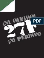 Ni Olvido Ni Perdón - Caracazo - 27F - Venezuela - Ed. Alcaldía de Caracas 2012